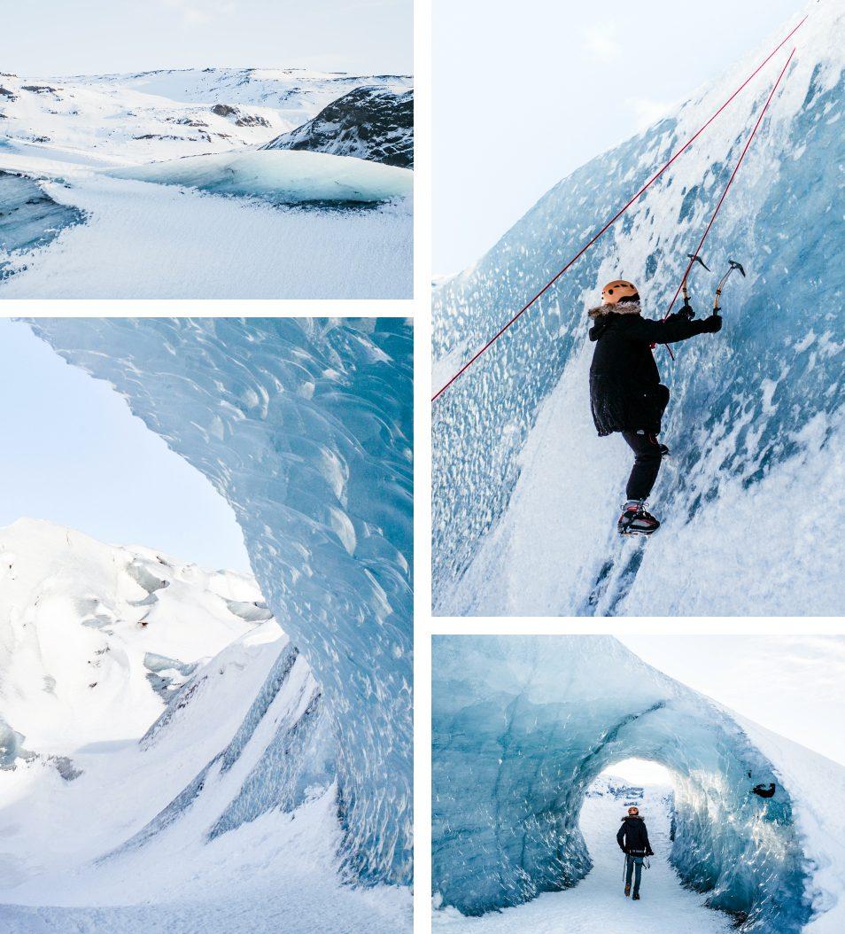 Road trip en Islande en hiver - Glacier Solheimajokull - Ice Climbing