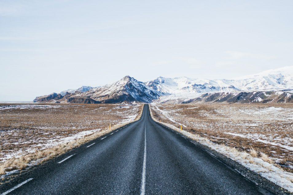 Road trip en Islande en hiver - Route