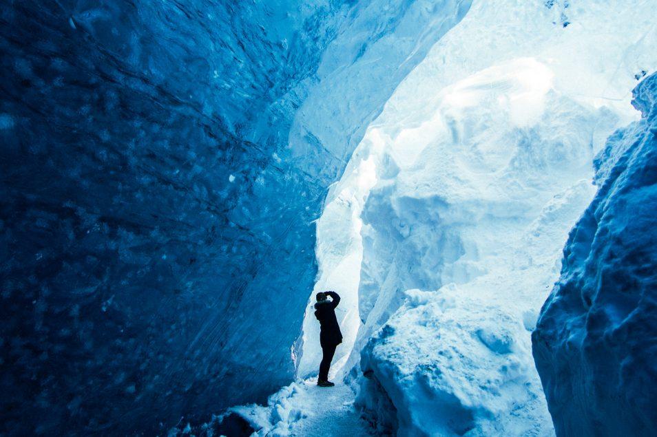 Road trip en Islande en hiver - Cercle d'or - Ice Cave Vatnajokull