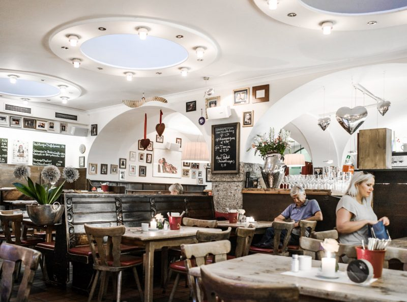 Visiter l'Autriche - Restaurant à Salzbourg