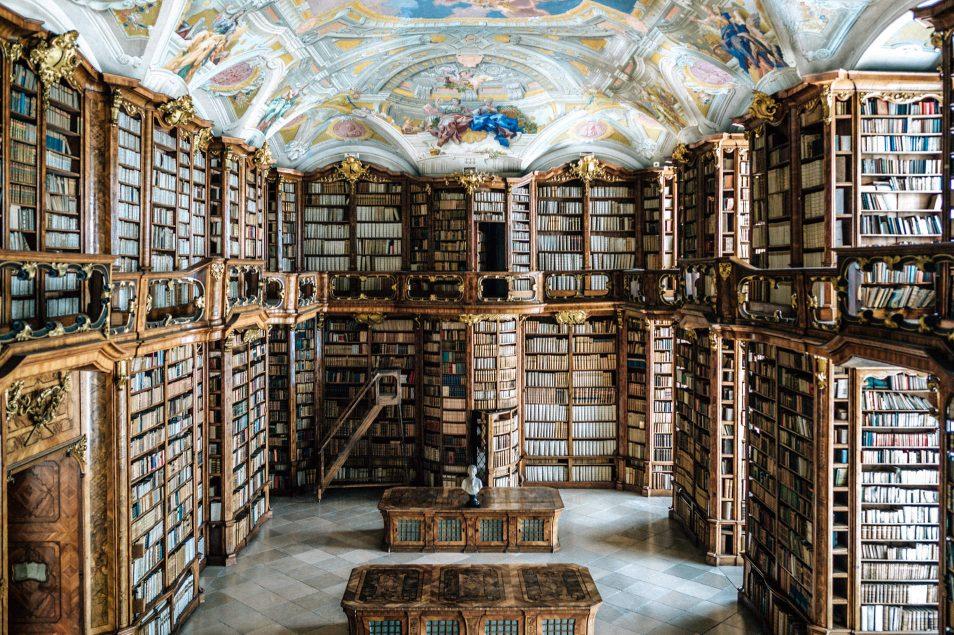 Visiter l'Autriche - La superbe bibliothèque St Florian
