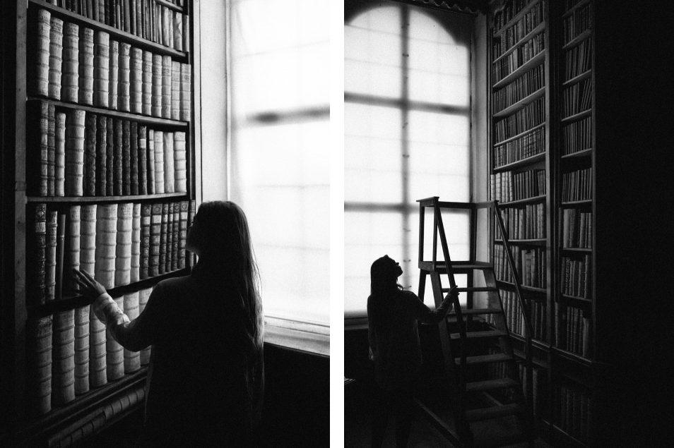 Visiter l'Autriche - La bibliothèque St Florian
