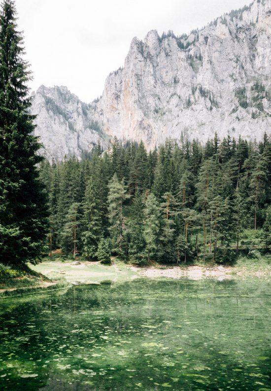 Visiter l'Autriche - Gruner see, le lac vert