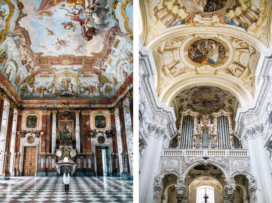 Visiter l'Autriche - Abbaye de St Florian