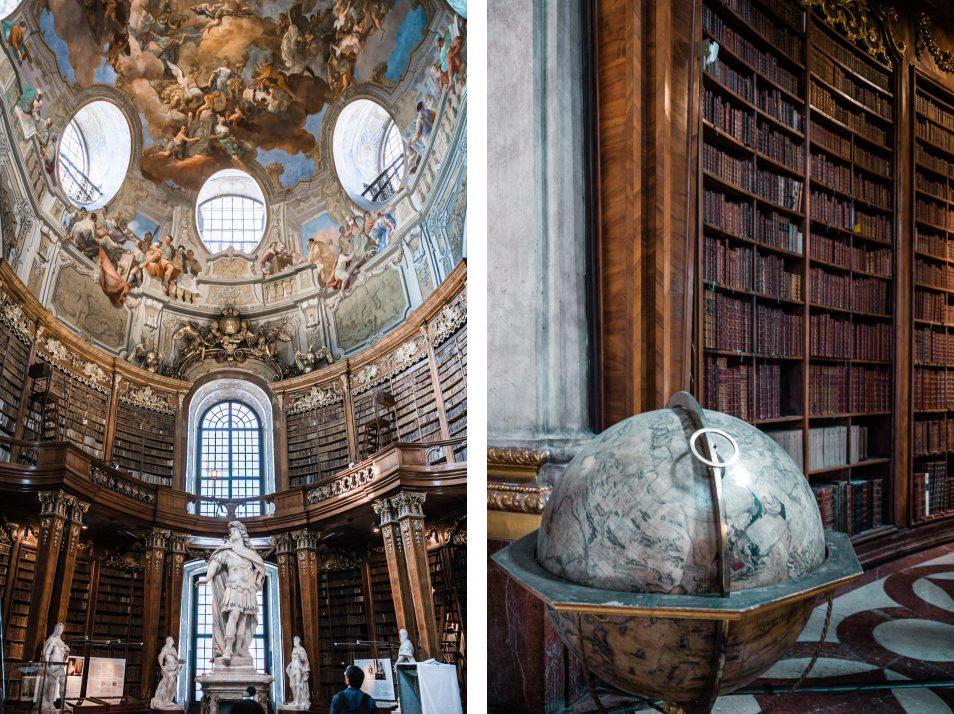 Visiter Vienne La Bibliotheque Nationale DAutriche