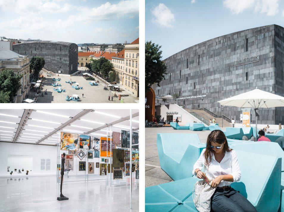 Visiter Vienne : Museum Quarter
