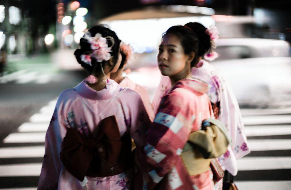 Visiter Tokyo - Jeunes filles en kimonos