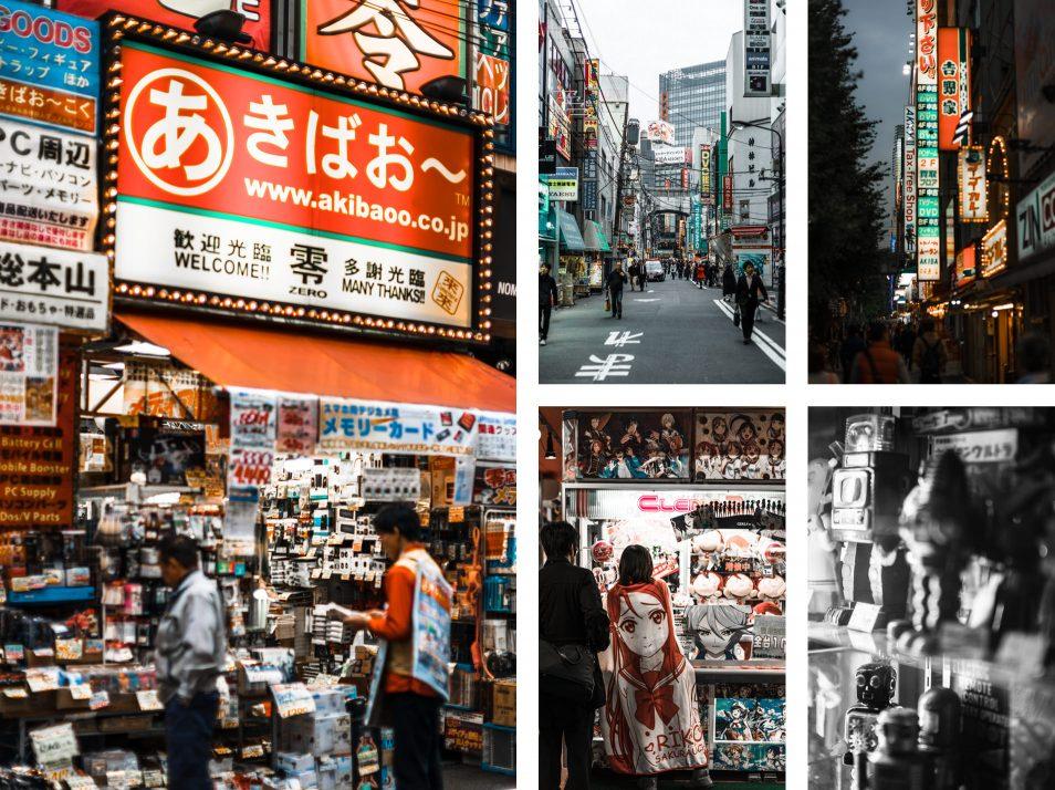 Visiter Tokyo - Quartier Akihabara