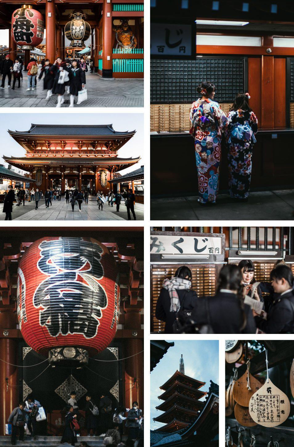 Visiter Tokyo - Quartier Asakusa