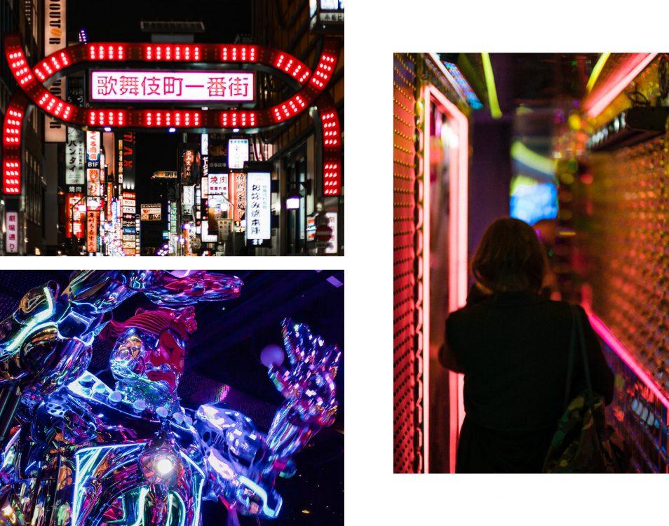 Visiter Tokyo - Quartier Kabukicho Shinjuku