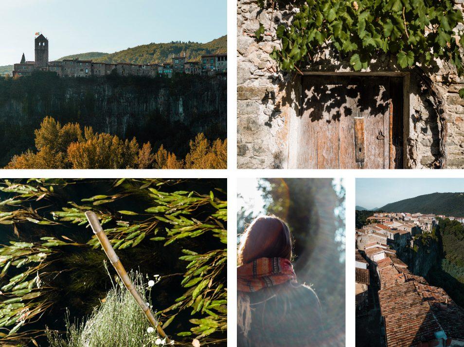 Garrotxa, Castellfollit de la Roca - Pyrenees catalanes, Espagne