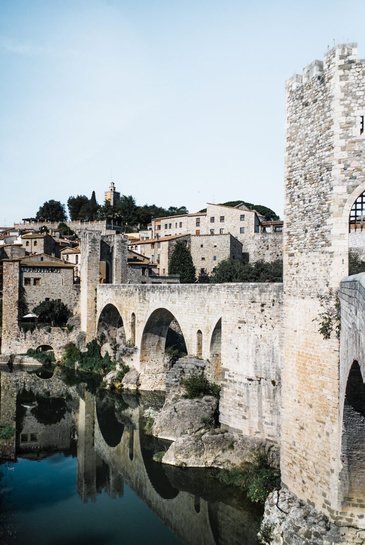 Besalu, Garrotxa - Pyrenees catalanes, Espagne
