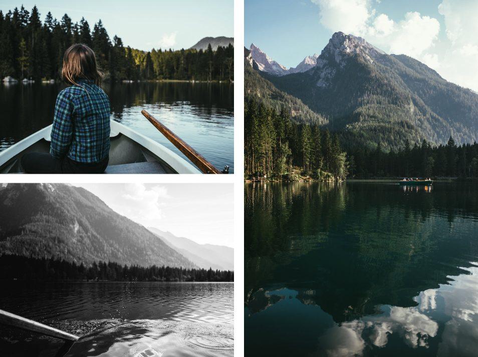 Lac Hintersee, Berchtesgaden - Baviere, Allemagne