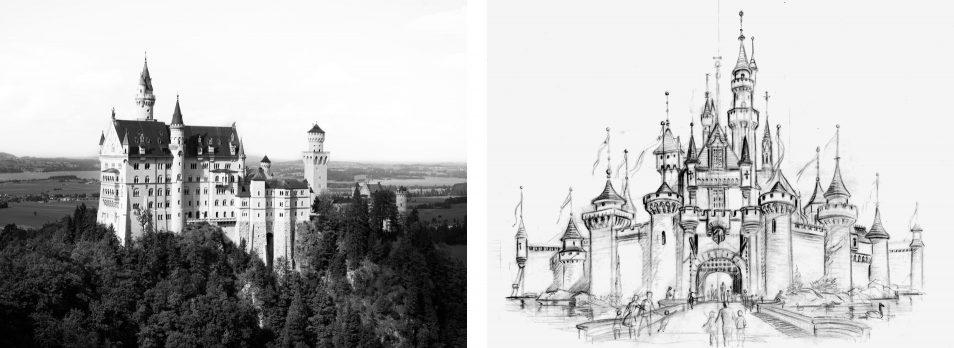 Chateau de Neuschwanstein, Disney - Road trip en Baviere