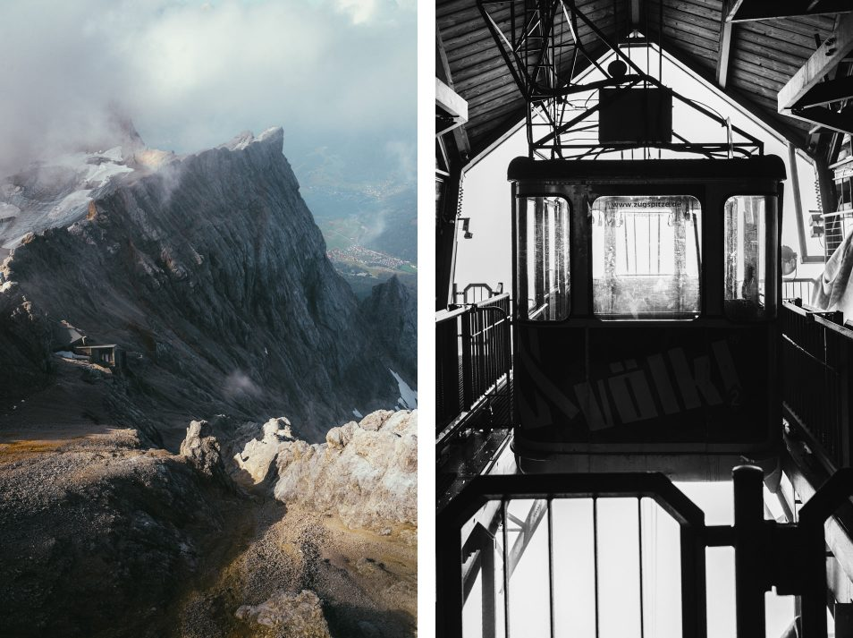 Zugspitze, Garmisch-Partenkirchen - Road trip en Baviere