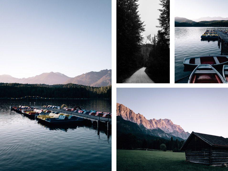 Lac Eibsee, Garmisch-Partenkirchen - Road trip dans les Alpes-Bavaroises