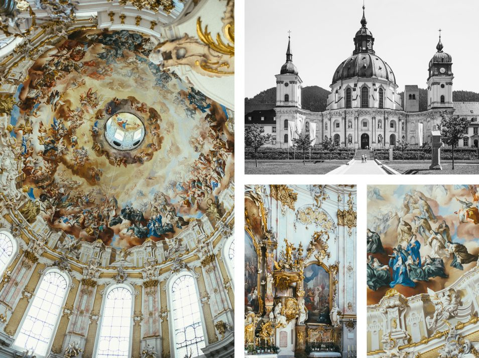 Abbaye d'Ettal, Baviere - Allemagne