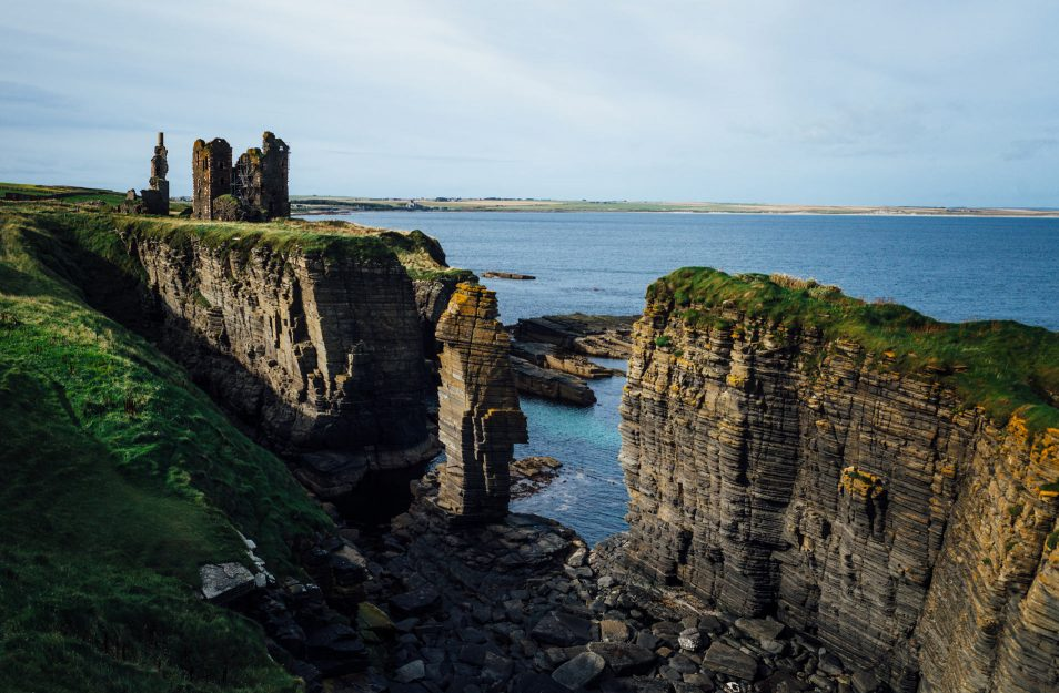 North coast 500 - Chateau Sinclair et Girnigoe - Road trip Ecosse