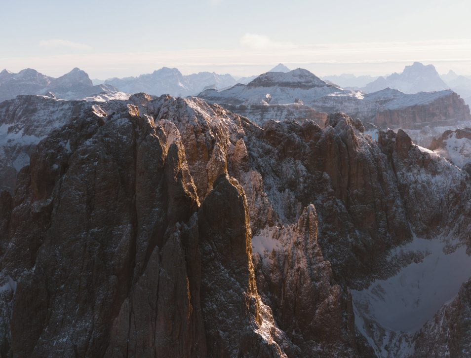 Dolomites Road Trip Italie Vol Helicoptere
