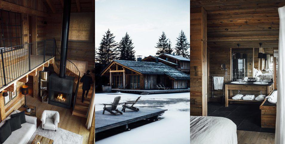 Dolomites Road Trip Italie San Luis Lodges Exterieur Interieur