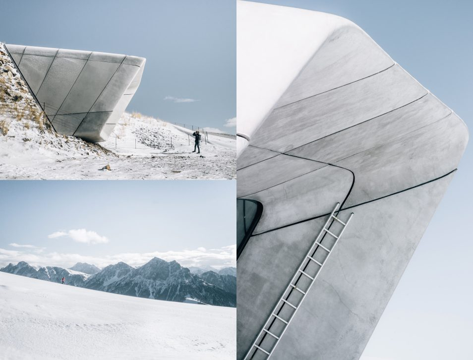 Dolomites Road Trip Italie Messner Mountain Museum Corones