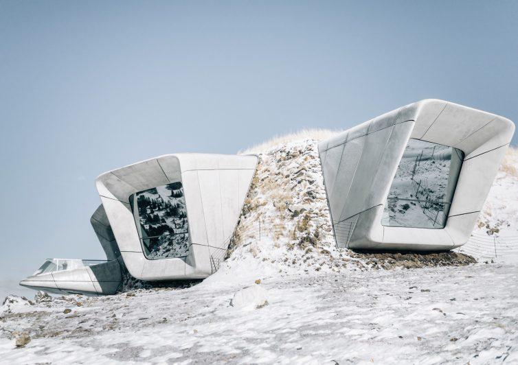 Dolomites Road Trip Italie Messner Mountain Museum Corones Exterieur