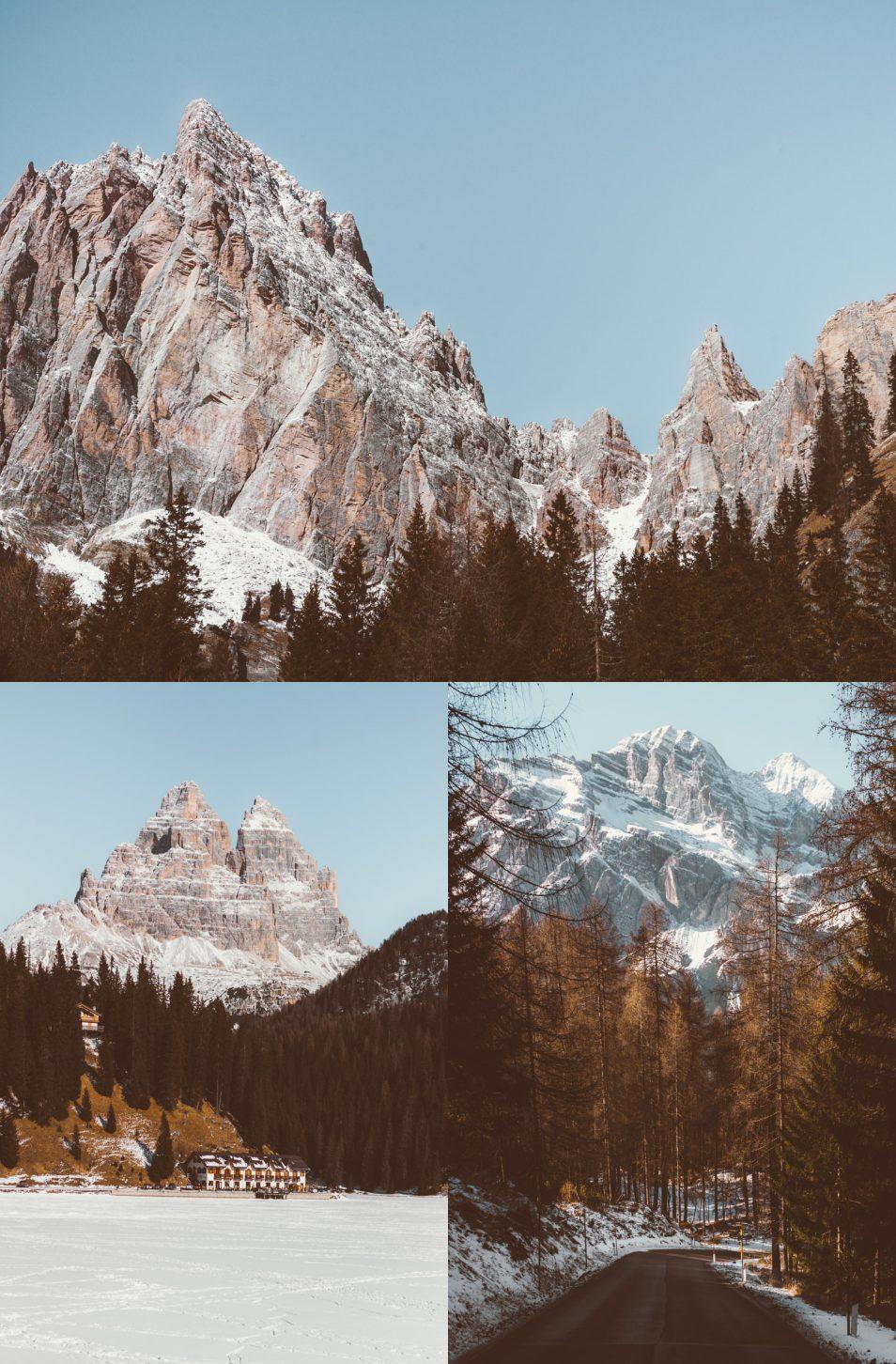 Dolomites Road Trip Italie Route Misurina Cortina Ampezzo