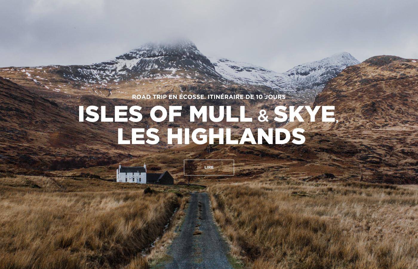 Road Trip en Ecosse : Ile de Mull, Ile de Skye, les Highlands — Itinéraires de 10 jours