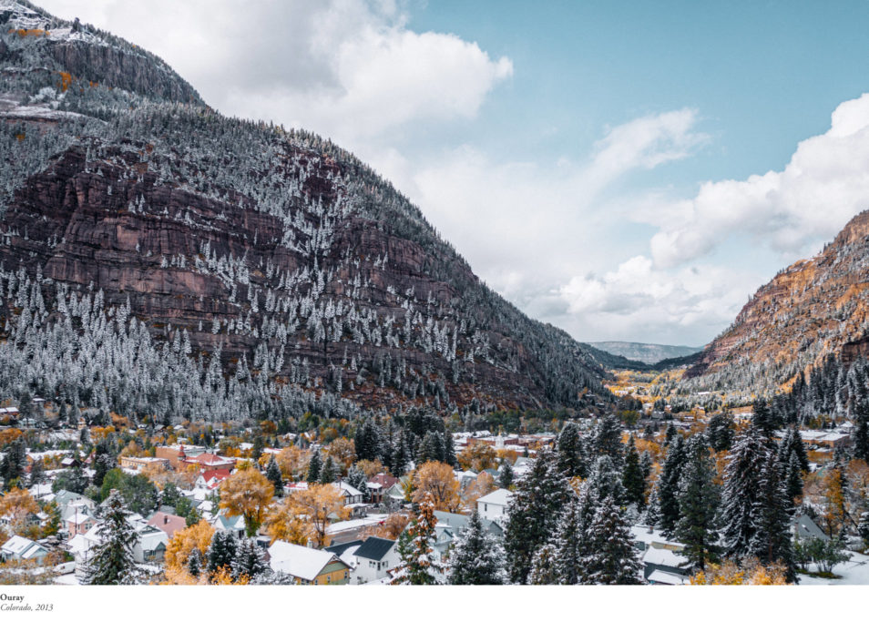 Blog Voyage Itinéraires Road Trip Etats-Unis USA Colorado Million Dollar Highway Ouray Silverton