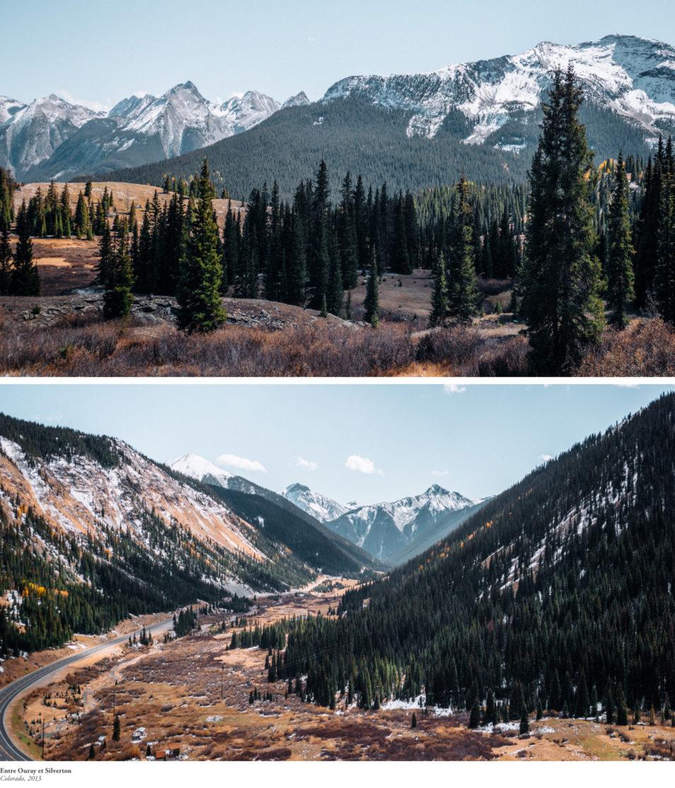 Blog Voyage Itinéraires Road Trip Etats-Unis USA Colorado Million Dollar Highway Ouray Silverton