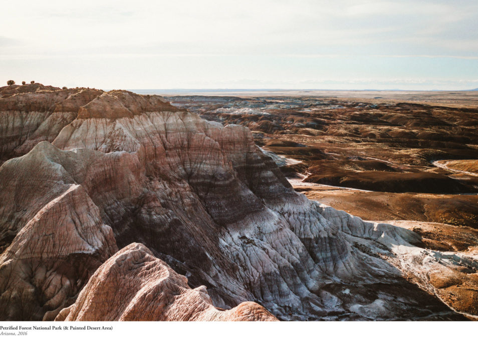 Blog Voyage Road Trip Etats-Unis USA Arizona-Itinéraire Petrified Forest Painted Desert