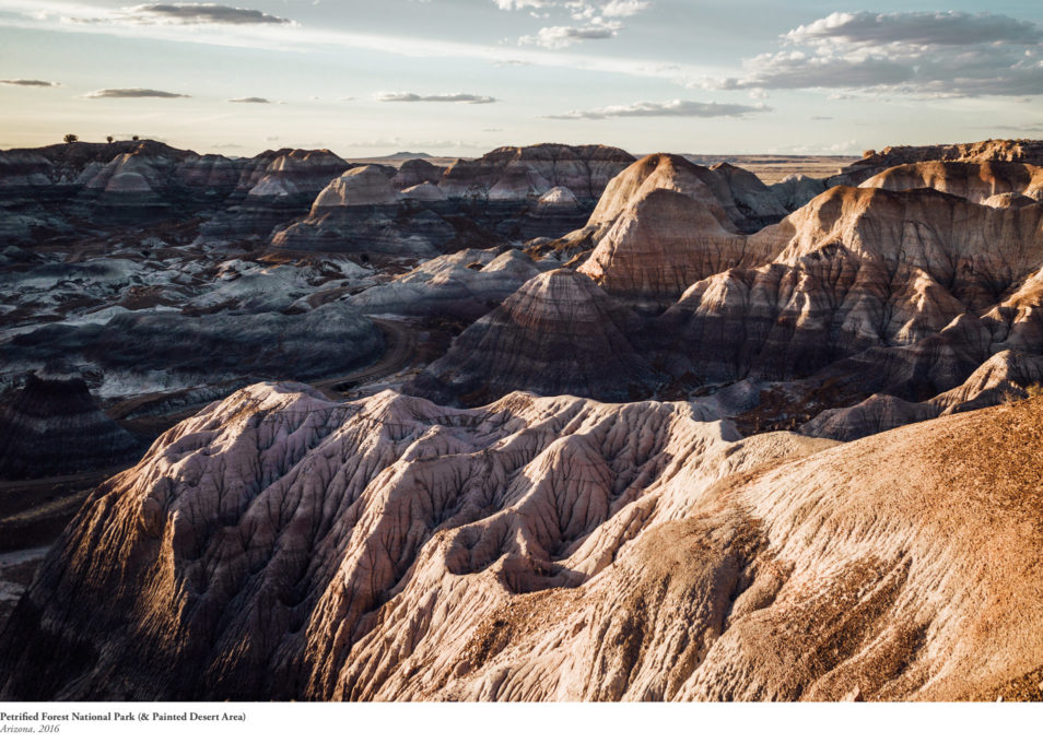 Blog Voyage Itinéraires Road Trip Etats-Unis USA Arizona Petrified Forest Painted Desert