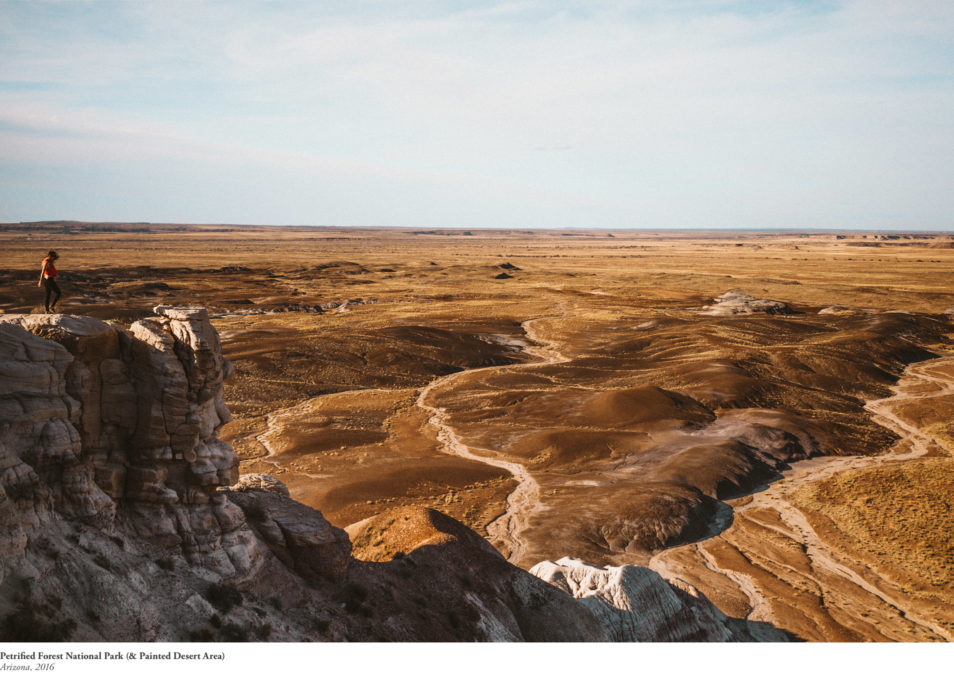 Blog Voyage Itinéraires Road Trip Etats-Unis USA Arizona Petrified Forest Painted Desert