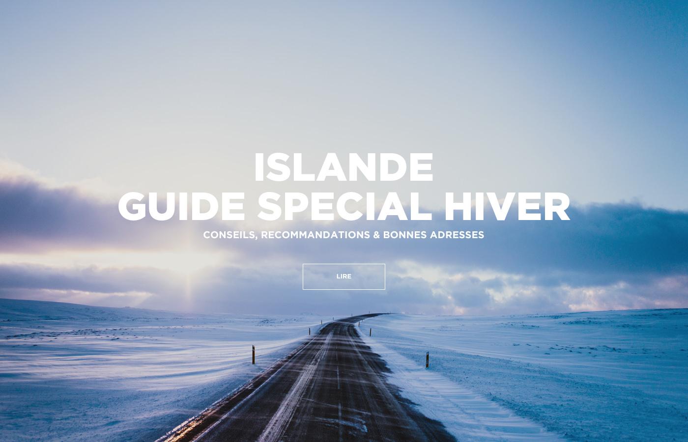 Islande - Guide Special Hiver