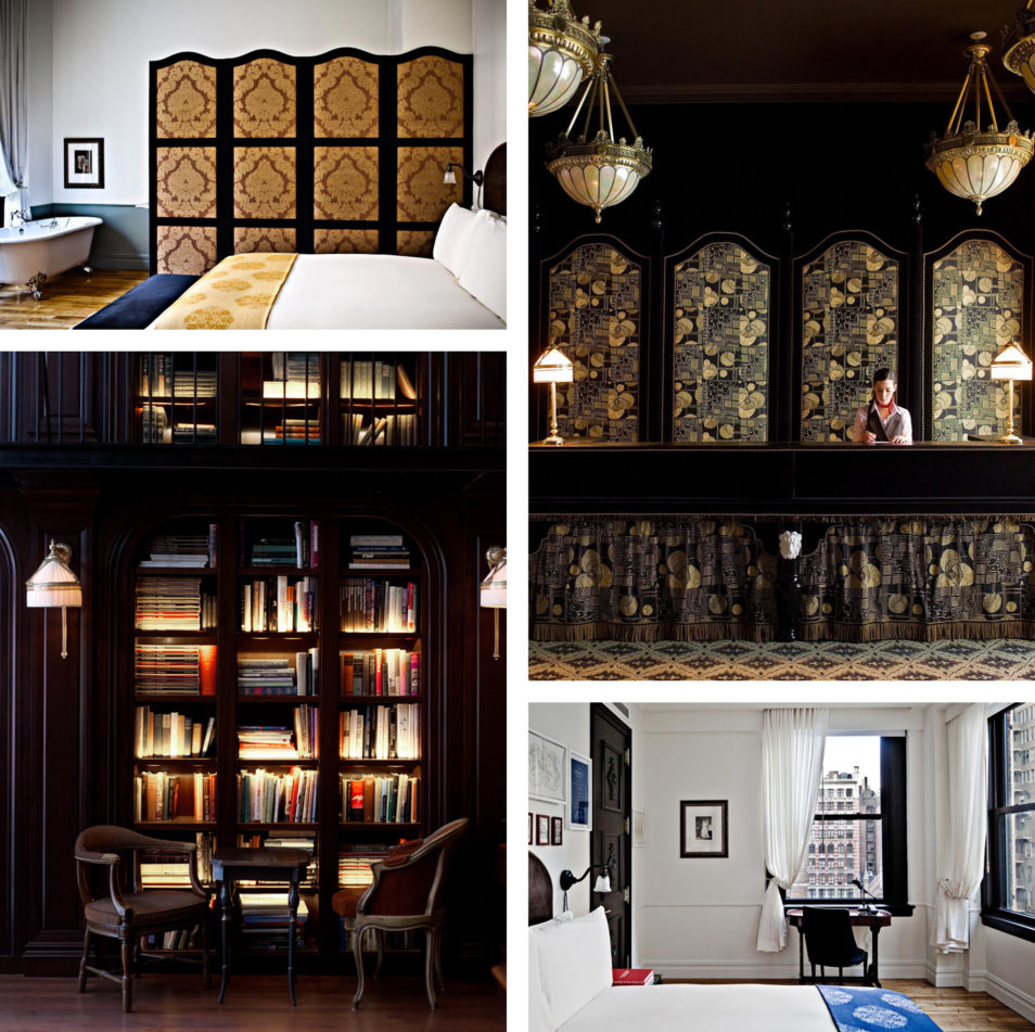 O dormir new york 20 adresses instagram blog voyage for Nomad hotel decor
