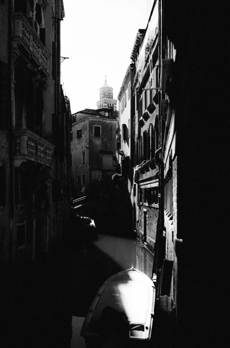 Venise Photographie Noir et Blanc